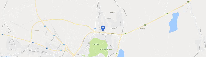 Karta: BW Fritid Umeå - Formvägen 10C, 906 21 Umeå